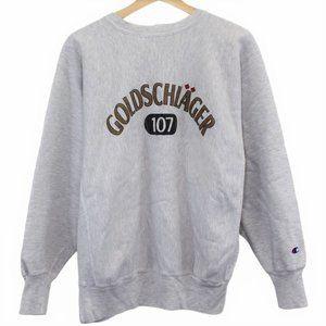 M43 Vintage 90s Champion Goldschiager 107 Crewneck